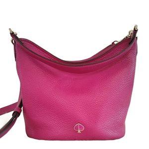 New Kate Spade Polly Bucket Bag Berry Blitz Pink